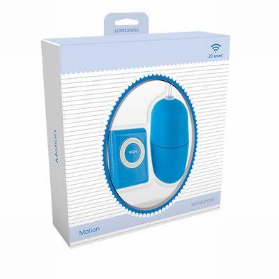 Вибромасажер VIBRATING EGG MOTION BLUE T4L-801014