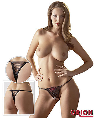 эротическое белье трусики с разрезом без цензуры