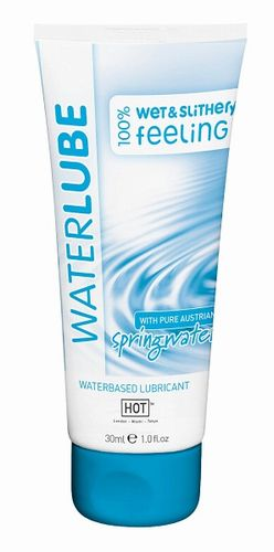 Гель-смазка на основе чистой родниковой воды Water