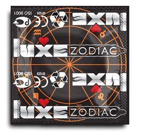 Презервативы LUXE Zodiac  Лев  - 3 шт.