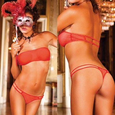 Красный комплект белья Spanish