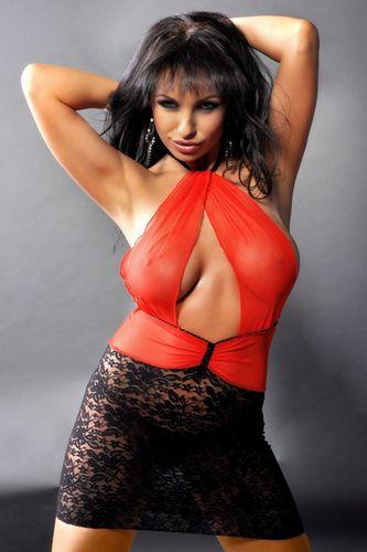 Сексуальная сорочка Abena с роскошным декольте