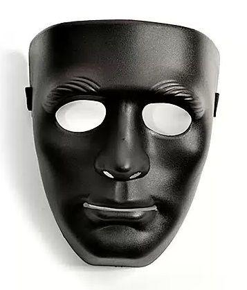 чёрная маска телефон
