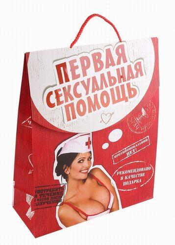 Пакет-конверт  Первая сексуальная помощь