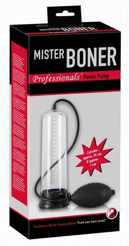 Помпа для пениса Mister Boner Professional